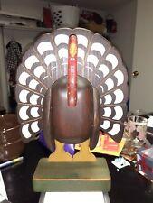 Wonderful Beaver Creek Beaman, Iowa Hand Crafted Folk Art Style Wooden Turkey