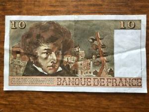 billet France 10 francs 1975