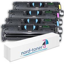 4x Toner für HP Color Laserjet 2500L 2500LN 2500LSE 2500N C9700A bis C9703A