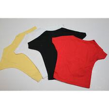 10 x T-Shirt fuer Teddys und Puppen bis 30 cm in 4 Farben Restposten Sonderpreis