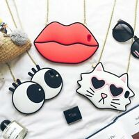 """For Apple iPhone 6 6S 7 Plus 4.7"""" 5.5"""" 3D Cute Cartoon Soft Silicone Case Cover"""