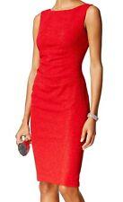Jessica Howard NEW Red Womens Size 10 Textured Glitter Sheath Dress $99