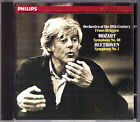Frans BRÜGGEN: MOZART Symphony No.40 BEETHOVEN Sinfonie Nr.1 BRUGGEN CD