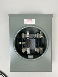 Durham 20 amp Transformer Rated Meter Socket 5 Jaw Ring Style