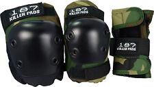 187 Killer Junior Protective Pads Tri Pack (Wrist, Knee & Elbow Pads)