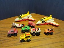 1990 Galoob Wendy's Two Planes and Seven Micro Machines Vehicles
