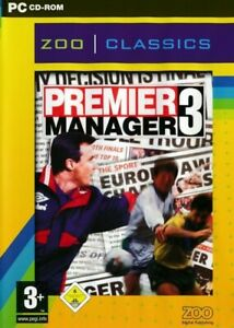 Premier Manager 3 - Football Soccer Management - PC CD-ROM Game (Disc in Sleeve)