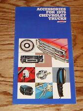 Original 1975 Chevrolet Truck Accessories Catalog Sales Brochure 75 Chevy