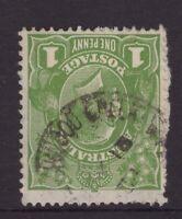 Tasmania Blackwood Creek postmark (type 1) on KGV rated S by Hardinge