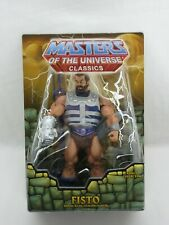 MOTUC,MOTU,FISTO,MASTERS OF UNIVERSE CLASSICS,HE-MAN,Sealed,MOC
