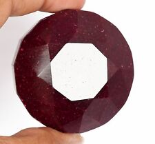 763.00 Carat. 100% Natural Top Blood Red Ruby 47 mm Round Cut Loose Stone D-4701