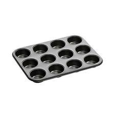 Alta Qualità ANTIADERENTE 12 profonda Coppa Fata Muffin Torta CHIGNON rendendo VASSOIO Tin Pan