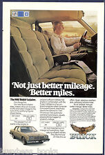 1981 BUICK LESABRE advertisement, Buick LeSabre sedan, Le Sabre
