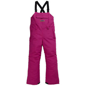 BURTON YOUTH Girls 2020 Snowboard Snow SKYLAR BIB PANT Fuchsia