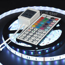 5M RGB 5050 SMD IP65 Waterproof 300 LED Flexible Strip Light + 44Key IR Remote