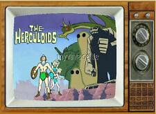 "The HERCULOIDS TV Fridge MAGNET  2"" x 3"" art SATURDAY MORNING CARTOONS"