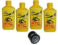 Kit Tagliando 4lt Bardahl XTC 10W40 Filtro Olio 204 HONDA 1800 GL GOLDWING 13-16