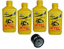 Kit Tagliando 4lt Bardahl XTC 10W40 Filtro Olio 303 HONDA 650 NTV REVERE 88/97