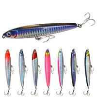 10g14g18g24g 75mm 95mm fishing lures hard bait high quality fishing tackle