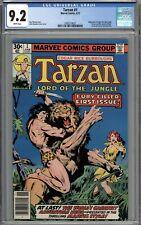 Tarzan #1 CGC 9.2 NM- WHITE PAGES