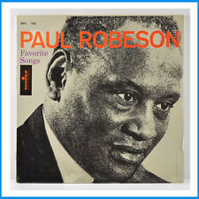 Paul Robeson Favorite Songs New Factory Sealed Record Monitor Records MPS 580
