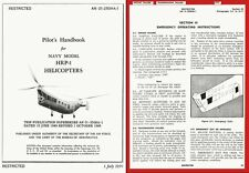 Piasecki HRP-1 Helicopter manual archive very rare 1949 1950 Flying Banana