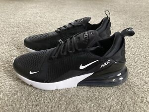 Nike Air Max 270 Sneakers Black/Anthracite-White AH8050-002 Men's Size 15