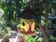 Bird House Farmhouse Bird House Station Wooden Garden Decorations , BIRDHOUSE