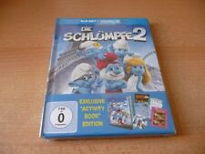 Blu Ray Die Schlümpfe 2 - Neu/OVP - 2013 - Exklusive Activity Book Edition