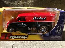 JADA Div Cruiser Edelbrock Parts Delivery Van D-Rods 1:24 Scale Diecast Model