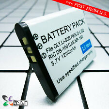 LI-50B LI50B Battery for Olympus Tough TG620 TG820 iHS TG810  TG-805 TG805 SH-21