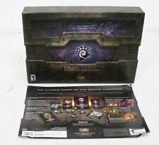 Blizzard Starcraft II 2 Heart of the Swarm PC Big Box Collector Edition
