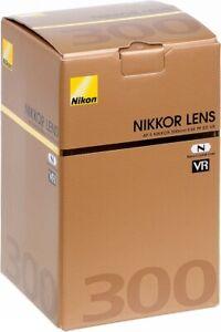 NIKON AF-S NIKKOR 300MM F/4E PF ED VR SUPER TELEPHOTO LENS. 2 YEARS WARRANTY