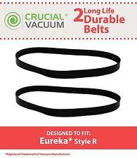 2 Replacement Durable Eureka 4800 SmartVac Series R Belts Part # 61110 & 61110B