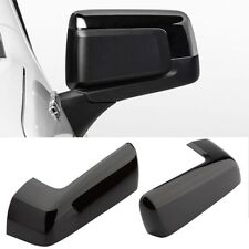 For 2019-2021 Chevy Silverado 1500 Gloss Black Replacement Mirror Cap Cover PAIR