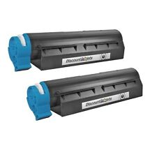 2 PACK 44992405 Black Printer Laser Toner Cartridge for Okidata Oki MB451W MFP