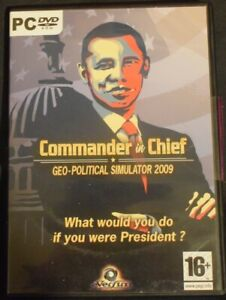 Commander in Chief Geo-Political Simulator 2009 for the PC