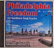 PHILADELPHIA FREEDOM - CD - 24 Northern Soul Tracks - BRAND NEW