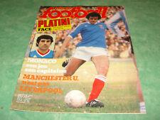 Miroir Football n°299. 09 Septembre 1977. Platini Onnis Monaco Manchester T.B+