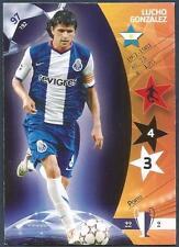 PANINI UEFA CHAMPIONS LEAGUE 2007- #097-PORTO-LUCHO GONZALEZ