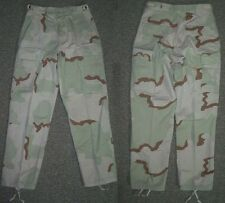 desert camouflage pants, Small Long 3 color camo combat trousers BDU