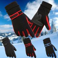 Men's Winter Warm Motorcycle Ski Snow Snowboard Gloves Windproof Touch Screen