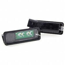Original vw LED plaque d'immatriculation feux GOLF 5 6 gti polo 6r sharan passat
