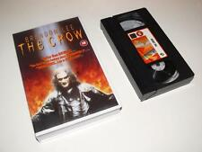 VHS Video ~ The Crow ~ Brandon Lee/Michael Wincott ~ Large Case Ex-Rental ~ EIV
