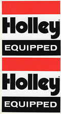 Holley Carberator Intake Injectors NOS Race Decals NHRA NASCAR