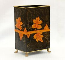 Hand Painted Iron Planter Paper Bin Dustbin Umbrella Stand Home & Kitchen