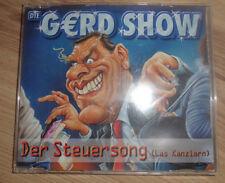 Die Gerd Show - Der Steuersong (Las Kanzlern) (Maxi CD)