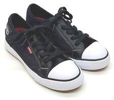 Levi's Boys Stan Buck C Denim Shoes Black Denim Choose Size