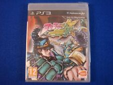 ps3 JOJO'S BIZARRE ADVENTURE All Star Battle New & Sealed REGION FREE ENGLISH