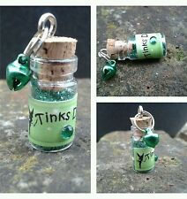 DISNEY TINKERBELL Inspired FAIRY DUST BOTTLES Tiny Glitter Favours / Free Bag